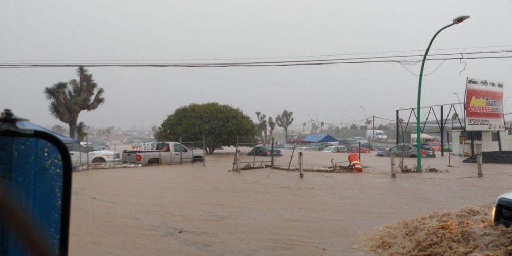 Lluvia deja dos muertos en Monterrey