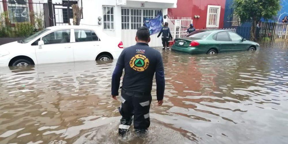 Atiende PC estatal afectaciones por lluvias en Uruapan, Múgica y Apatzingán