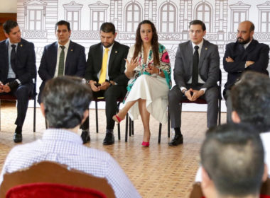 Resalta Tere Mora interés de jóvenes para participar en la vida pública de Michoacán