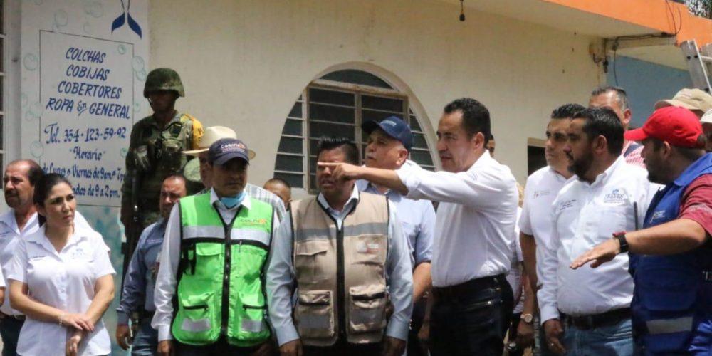 Suma Gobierno de Michoacán esfuerzos para atender a pobladores en Los Reyes