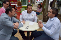 Arturo Hernández retomará Ley del Cuerpo de Bomberos en Michoacán