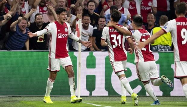 #Video El gol de Edson Álvarez en Champions League