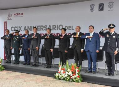 Poder Legislativo presente en conmemoración del aniversario de la Independencia de México