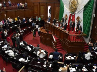 Aprueban integración de la Mesa Directiva para el segundo año legislativo en el Congreso de Michoacán