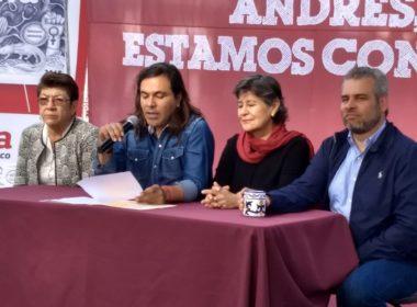 Michoacán con mucho apoyo de AMLO; acusaciones del PAN sin fundamento: Morena
