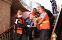 Se suma Michoacán a mega simulacro de sismo