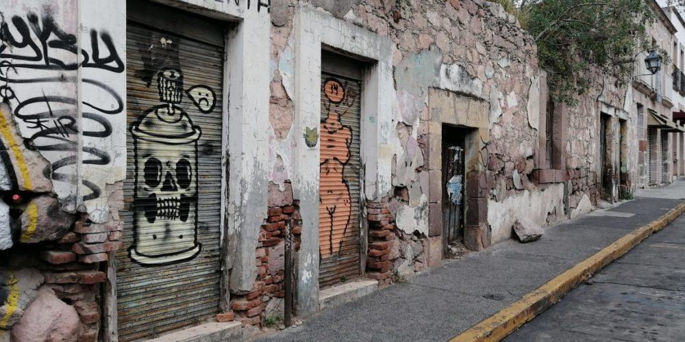 Morelianos piden al INAH y al Ayuntamiento intervengan fachadas de casas abandonadas