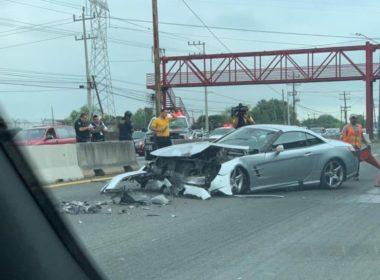 Tuca Ferreti sufre accidente vehicular