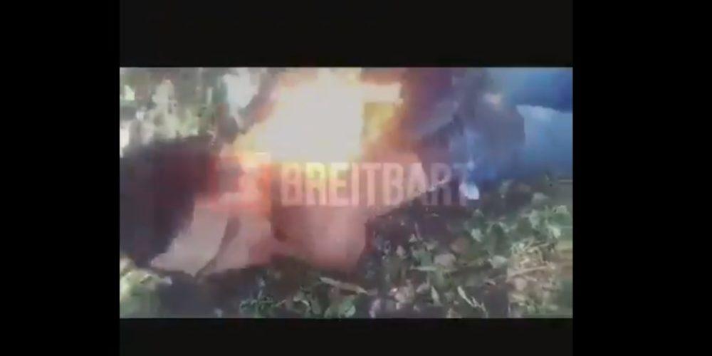 En video, sicarios muestran como torturan con fuego a individuo