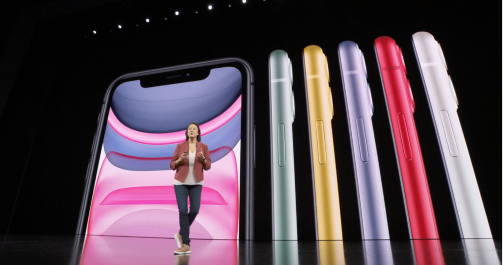 Presenta Apple nuevos iPhone 11 y iPhone 11 Pro Max