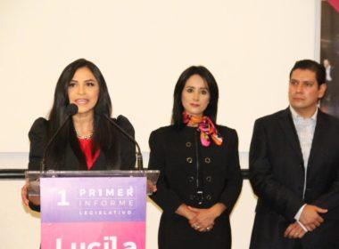 Ernesto Núñez levanta la mano de Lucila Martínez para gobernar Morelia