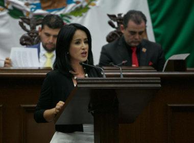 Convoca Lucila Martínez a un frente común por Michoacán