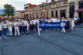 A través de una marcha, morelianos claman paz