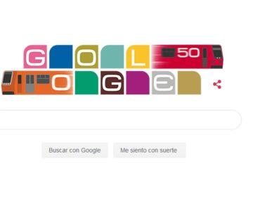 Celebra Google aniversario del metro de la CDMX