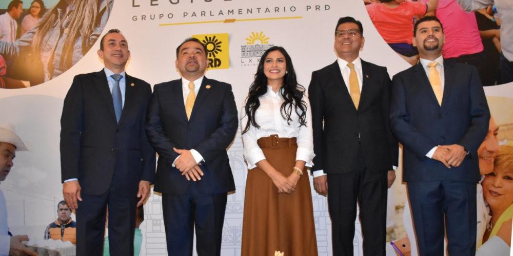 Diputados del PRD legislan por el bienestar de michoacanos