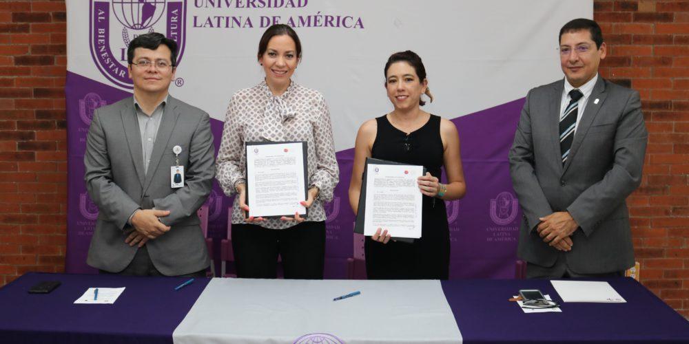 UNLA y Contenedor de Arte A.C firman convenio de colaboración