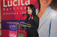 Presenta Lucila Martínez su primer informe de actividades legislativas