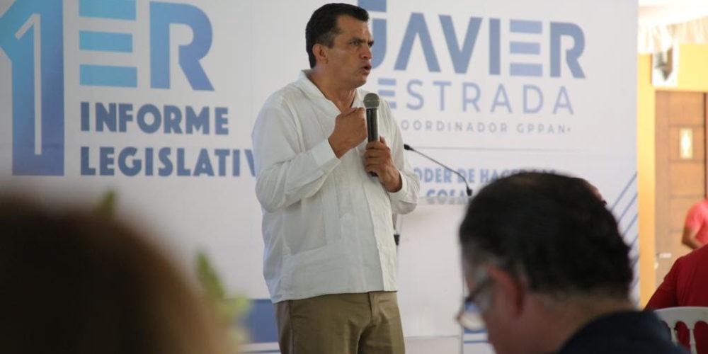 Michoacán nos requiere a todos, con altura de miras: Javier Estrada