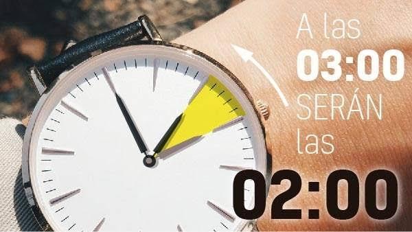 ¡Última semana! Habrá cambio de horario este domingo