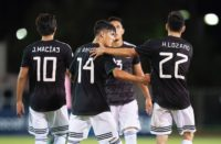 México golea en la Concacaf Nations League