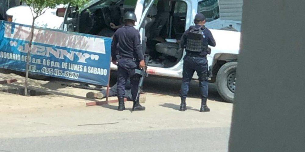 Muere jefe de plaza del CJNG tras enfrentamiento en Michoacán