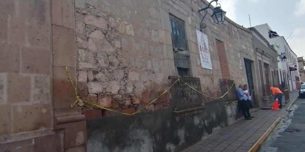 Preocupa derrumbe de vivienda en la Guadalupe Victoria