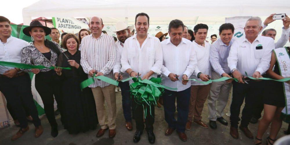 Inaugura Carlos Herrera Expo Feria de Apatzingán