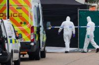 Encuentran camión con 39 cadáveres humanos