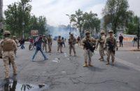Decretan toque de queda total en Chile