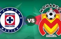 Cruz Azul recibe a Monarcas Morelia en el Azteca