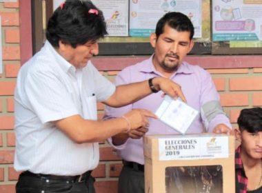 Inicia en Bolivia jornada electoral para relevo presidencial