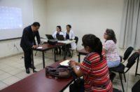 Atiende FGE a integrantes del Colectivo Eslabones de la Ciudad de México