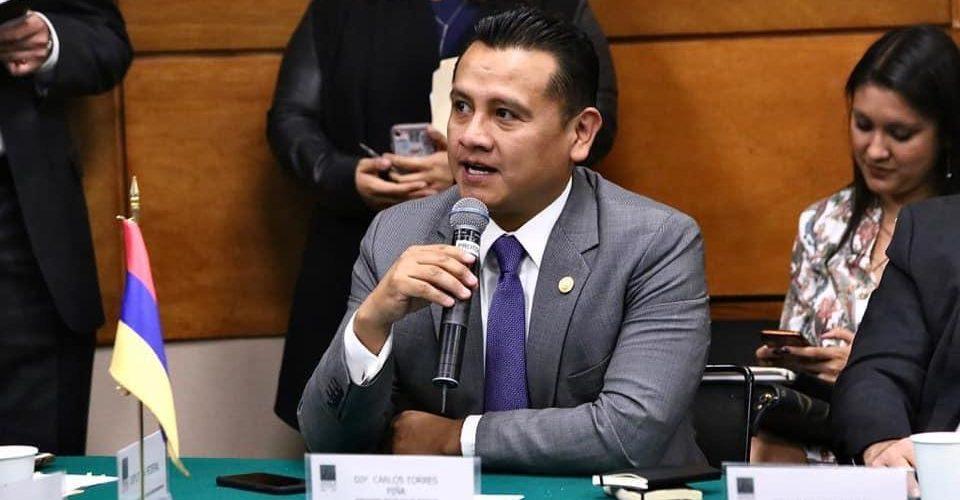 Advierte Torres Piña que este año van por endurecer leyes anticorrupción
