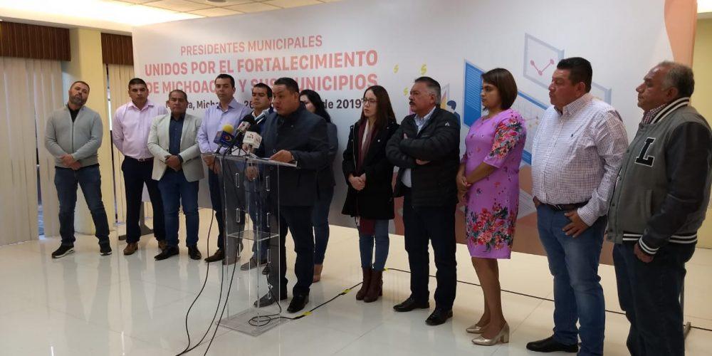 Alcaldes del PRD anuncian despidos para afrontar recortes en 2020