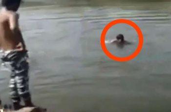 Amigos graban mientras joven muere ahogado
