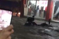 Reportan inundaciones en Zitácuaro