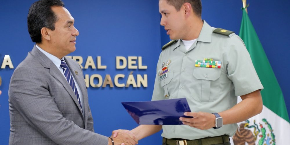 Fortalecimiento institucional, clave en combate a delitos en Michoacán