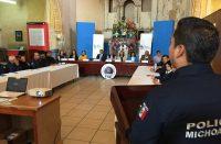 Capacita FGE a policías de Charo