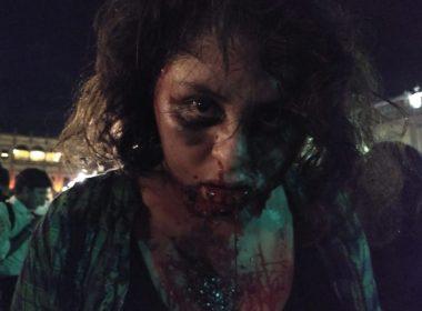 Horda de zombies ataca el centro de Morelia