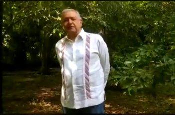 No hay nada que temer, vamos bien; dice Lopez Obrador