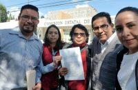 Movimiento Ciudadano promueven queja ante CEDH contra Morón