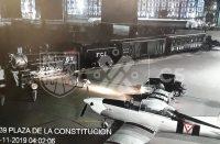 Alistan la Plaza de la Constitución para desfile de la Revolución Mexicana