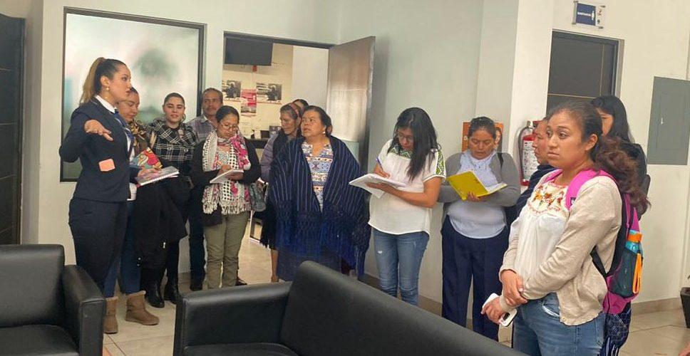 FGE institución cercana a la mujer indígena