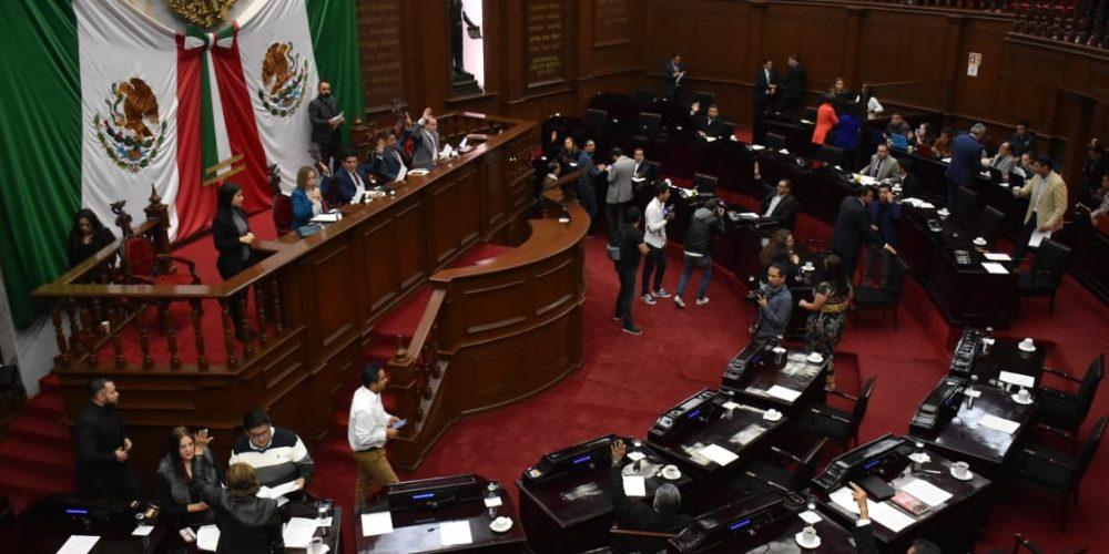 Analizarán suspender sesiones en el Congreso del Estado
