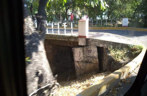 Vecinos de la Félix Ireta denuncian daño en uno de los puentes