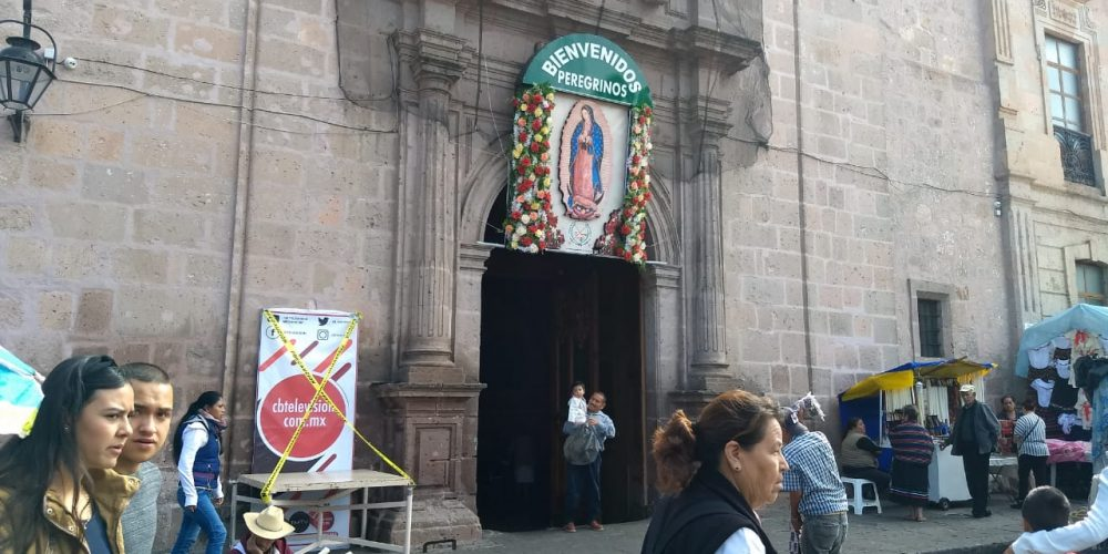 Arribarán cerca de 100 peregrinaciones a Morelia