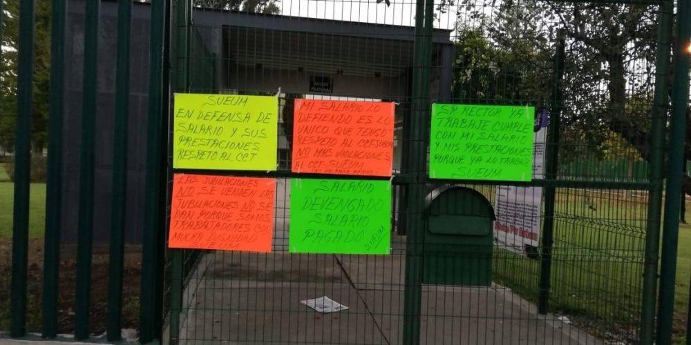 SUEUM advierte protestas para este lunes