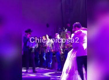 Filtran video de la boda de la hija de El Chapo