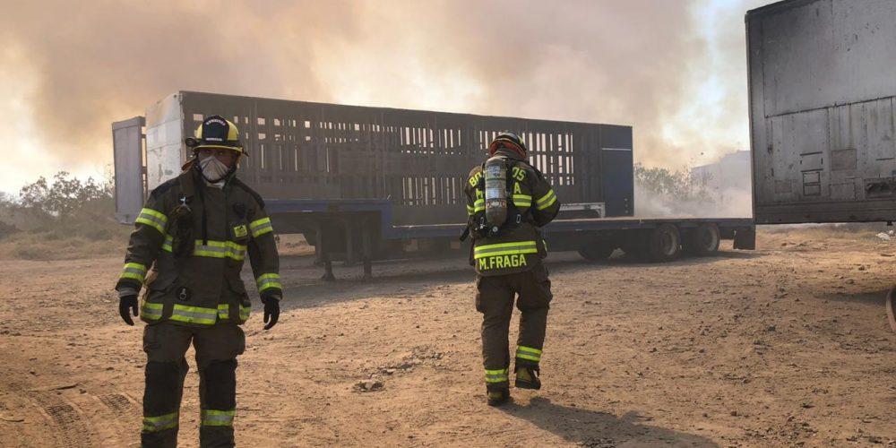 Controlado incendio en Salamanca