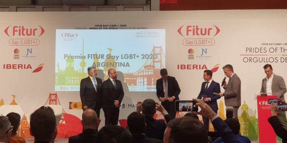 Premian a Argentina por contribución al turismo LGBT